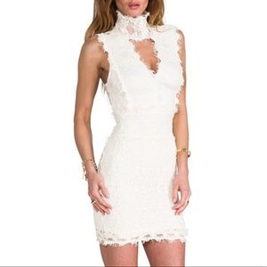 Florence Lace Dress - in Ivory - Nightcap
